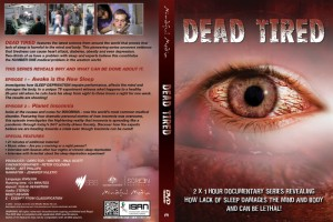 Dead Tired DVD Jacket Cover
