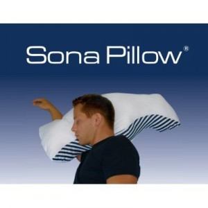 stop snore pillow by Sona